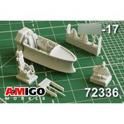 AMG72336 Amigo Models 1/72 Кабина самолёта для MiGG-17