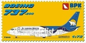 BPK7202 BPK 1/72 B737-200 Canadian North