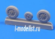 Q 48112 CMK 1/48 Набор дополнений Hawker Sea Hawk - wheels for Trump.