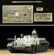 25145 Tamiya 1/35 Танк Т-55А с металлическим стволом и фототравлением фирмы Aber