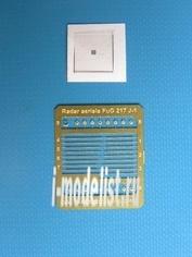 OWLP72005 OWL 1/72 Фототравление Aerials and screens for FuG 217 J Radar