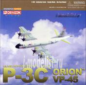 55773 Dragon 1/400 P-3C Orion (Собранная и покрашенная модель, железо)