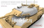 SPS-066 Meng 1/35 Canadian Main Battle Tank Leopard C2 MEXAS Sand-Proof Canvas Cover