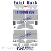 M35 094 KAV models 1/35 Окрасочная маска на Тайфун ВДВ К-4386 (Meng)