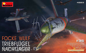 40013 MiniArt 1/35 Aircraft Focke Wulf Triebflugel Nachtjager