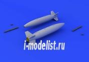 672074 Eduard 1/72 Mk.84 bombs – retarded fin