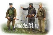 00433 Я-Моделист Клей жидкий плюс подарок Trumpeter 1/35 Советские солдаты в Афганистане