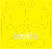 EX355 Eduard 1/48 Маска для T-28B