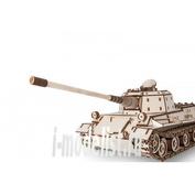 1-05 EWA Collectible mechanical wood model Löwe (lion)