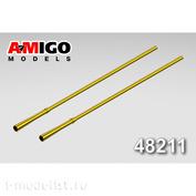 AMG48211 Amigo Models 1/48 Стволы авиационных пушек ГШ-30К для Cуххой-34