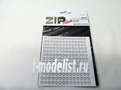 69301 ZIPmaket Лист клена L (182 штуки, 4,5*5,5 мм) БЕЛЫЙ