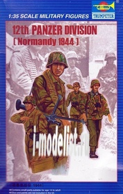 00401 Trumpeter 1/35 12th Panzer Division (Normandy 1944)