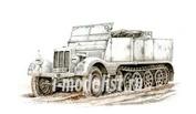 SA72002 Special Hobby 1/72 SdKfz 11 Leichter Zugkraftwagen 3t