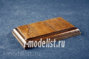 PL24 Plate Подставка для миниатюры (цвет коньяк) 50х90мм