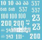 72007 ColibriDecals 1/72 Декаль для Is-2 early series