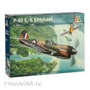 2795 Italeri 1/48 Самолет P-40 E/K Kittyhawk