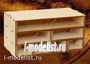 MWP-0010-17 WinModels Касcетный модуль-органайзер комбинированный на 7 ящичков.