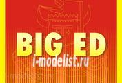 BIG5351 Eduard 1/350 Полный набор фототравления для CVN-65 Enterprise, I Часть