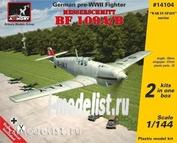 14104 Armory 1/144 Истебитель Messerschmitt Bf 109A/B