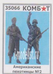 35066 Комбат 1/35 Американские пехотинцы №2