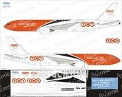 77F-003 Ascensio 1/144 Декаль на самолет боенг 777F (TNT)