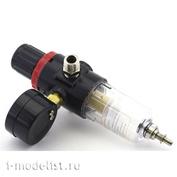 1704 Jas Фильтр воздушный с регулятором и манометром (компрессор 1203, 1202-II)