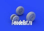 672090 Eduard 1/72 Дополнение к модели MiG-29 wheels