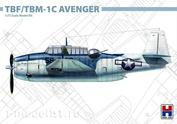 72009 HOBBY 2000 1/72 Самолет TBF/TBM-1C Avenger