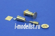 35A08 RB Model 1/35 Railroad round buffer