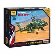7408 Звезда 1/144 Американский вертолет Апач AH-64