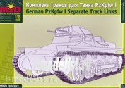 35001 Макет 1/35 Комплект траков для танка PzKpfw I
