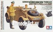 36202 Tamiya 1/16 Kubelwagen Type82 Africa-Corps