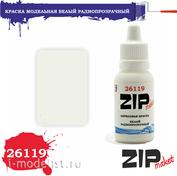 26119 ZIPMaket Краска акриловая Белый Радиопрозрачный