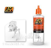 AK177 AK Interactive white Primer (WHITE PRIMER), 60 ml.