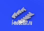 648179 Eduard 1/48 Дополнение к модели Spitfire Mk. V exhaust stacks