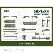 35210 Miniarm 1/35 Набор шанцевого инструмента для советских легких танков Т-26