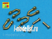 R-14 Aber 1/35 Early model Shackle for Pz.Kpfw.V Panther x4pcs