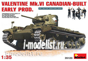 35123 MiniArt 1/35 Valentine Mk. VI the Canadian Version of an Early Version