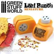 1354 Green Stuff World Инструмент для создания листьев дуба, оранжевый / Miniature Leaf Punch ORANGE