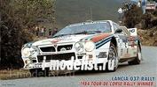 25030 Hasegawa 1/24 Lancia 037 Rally '84 Tour De Corse Rally