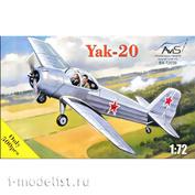 72039 Avis 1/72 Тренировочный самолет Яковлева тип 20