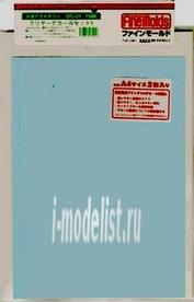 DC01 Fine Molds Бумага для печати декалей прозрачная (2 л., 200x280)
