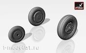 AW72007 Armory 1/72 Набор дополнений колеса ранние для Су-7Б