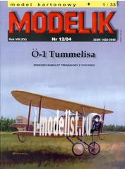 MD12/04 Modelik 1/33 O-1 Tummelisa