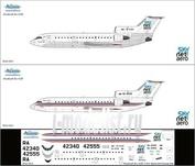Я42-003 Ascensio 1/144 Декаль на самолет Яквлев Як-42Д (Скайнет 2011 (Тулпар))
