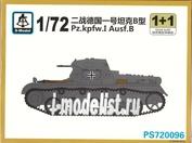PS720096 S-Model 1/72 Pz. Kpfw. I Ausf. b