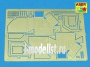 35 A117 Aber 1/35 Rear boxes for Panther G &Jagdpanter produced from April 1944 in M.N.H.