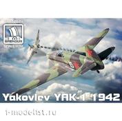 BRP72021 Brengun 1/72 Jak-1 (мод. 1942)