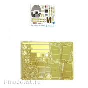 048005 Микродизайн 1/48 Bf-109G6 (Звезда) цветные объёмные приборные доски