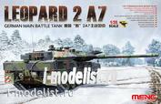 TS-027 Meng 1/35 GERMAN MAIN BATTLE TANK LEOPARD 2 A7